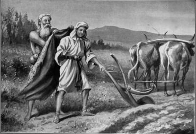 Elijah mentored Elisha
